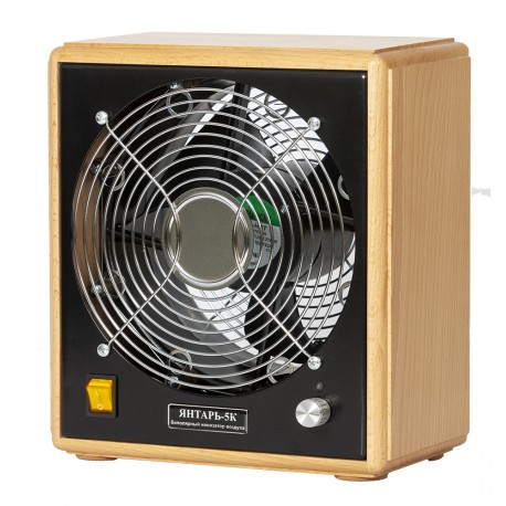 Bipolar air ionizer Yantar 5K beech