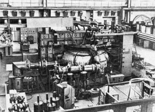 Рис. 4. Внешний вид установки Т-3 (Токамак)